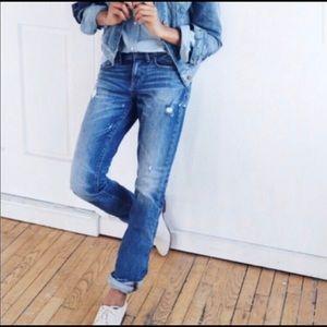 Madewell Slim Boyjean Denim Jeans